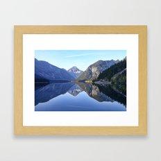 Blick Von Der Plansee (Tyrol) Framed Art Print