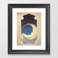 ...In My Moon Framed Art Print