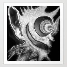 The Torch Art Print