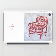 Red Chair iPad Case