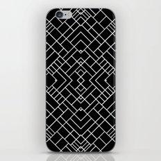 PS Grid 45 Black iPhone & iPod Skin