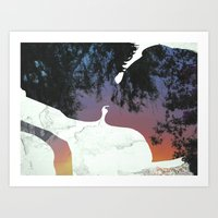 And this is when We knew Art Print