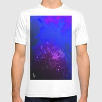 Mysterious World Below T… Mens Fitted Tee White SMALL