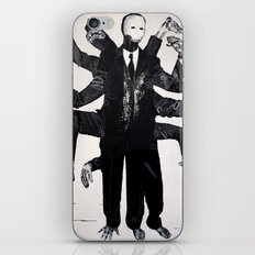 Mutant lunatic with broken mask. 2008. iPhone & iPod Skin