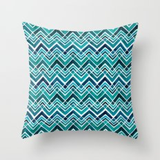 Arrowhead Chevrons Throw Pillow