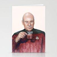 Tea. Earl Grey. Hot. Cap… Stationery Cards