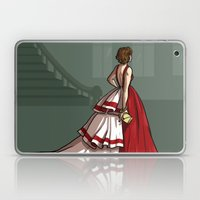 Red Gown Laptop & iPad Skin