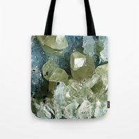 chrysocolla & calcite Tote Bag