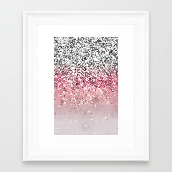 Spark Variations VII Framed Art Print