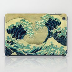 The Great Blue Embrace at Yama iPad Case