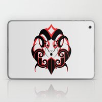 Warrior (Black & Red) Laptop & iPad Skin
