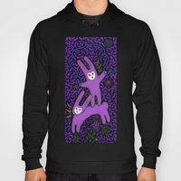Purple Rabbits Hoody