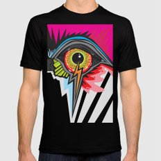 GLARE SMALL Black Mens Fitted Tee