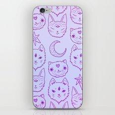 Kitty Mystics in Pink iPhone & iPod Skin