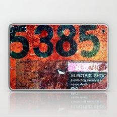 Rusty Numbers Laptop & iPad Skin