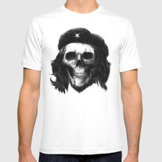 Che Guevara Mens Fitted Tee White SMALL