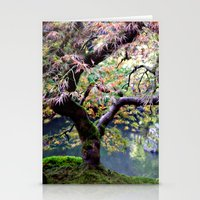 Autumn Maple Stationery Cards