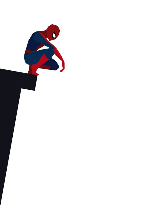 Basic Paper - Spiderman Art Print