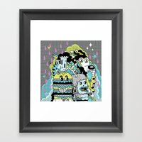 Magic Friends Framed Art Print