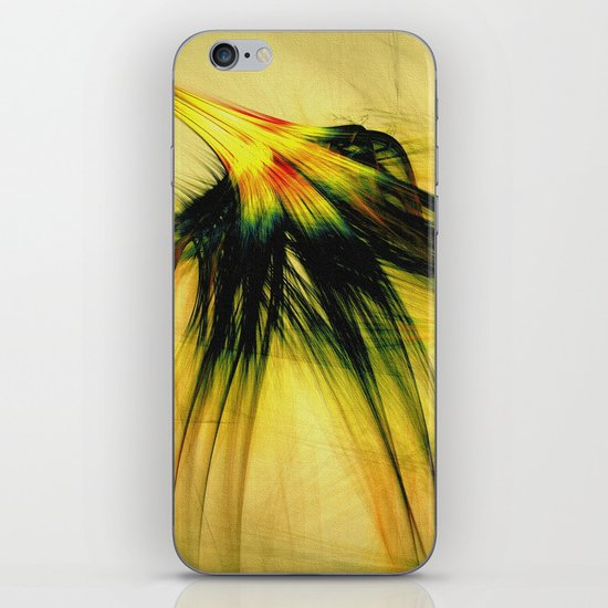 Flower in the Wind 2 iPhone & iPod Skin