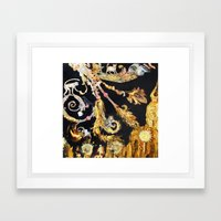 Gilded Cultivation Framed Art Print