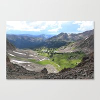 Willow Lakes Canvas Print