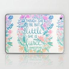 Little & Fierce – Lavender Mint Ombré Laptop & iPad Skin