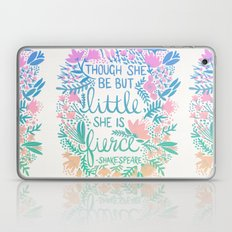 Little & Fierce – Lavender Mint Ombré Laptop & iPad Skin