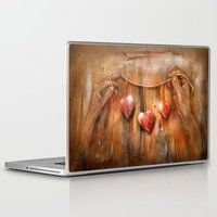hearts Laptop & iPad Skins featuring Hearts ! by teddynash