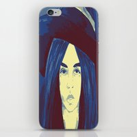 Woman 1 iPhone & iPod Skin
