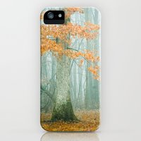 iPhone 5s & iPhone 5 Cases featuring Autumn Woods by Olivia Joy StClaire
