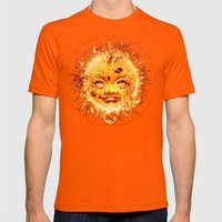 The Sun (Young Star) Mens Fitted Tee Orange SMALL