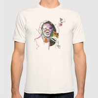 Stevie Wonder Mens Fitted Tee Natural SMALL