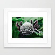Axolotl Horst Framed Art Print