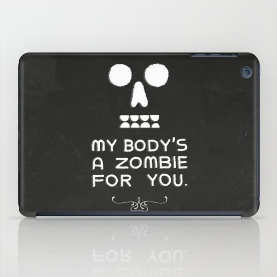 Zombie Love iPad Case