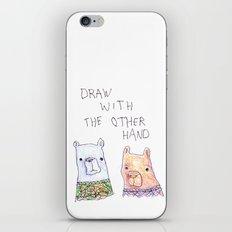 Backhand Bears iPhone & iPod Skin
