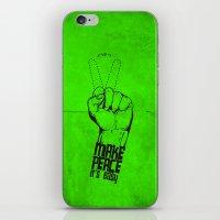 Make Peace... iPhone & iPod Skin