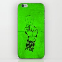 Make peace... iPhone & iPod Skin