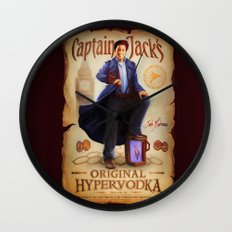 Captain Jack's Original Hypervodka Wall Clock