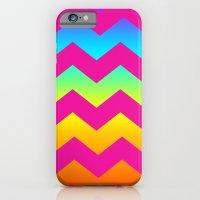 Rainbow Zig - Zag iPhone 6 Slim Case