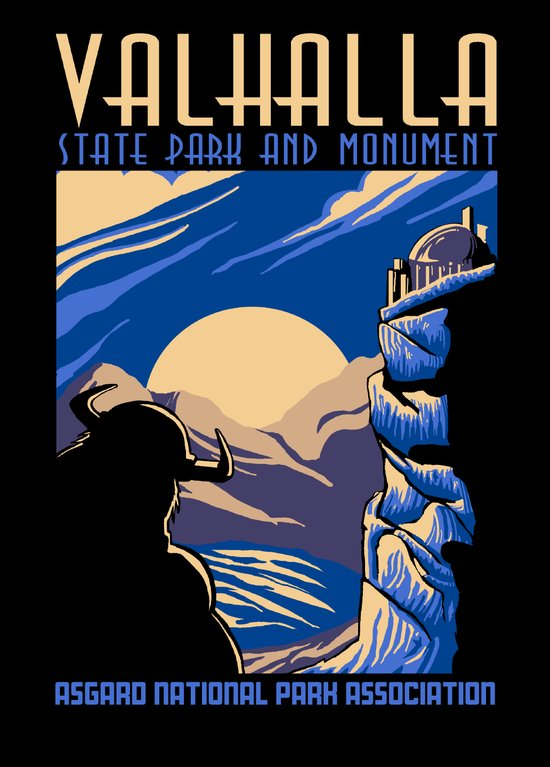 Valhalla State Park Art Print