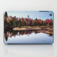 A Clear Autumn Evening iPad Case