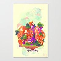 CIVICS 3 Canvas Print