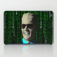 max meets matrix iPad Case
