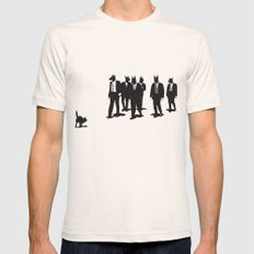 Reservoir Dogs Mens Fitted Tee Natural SMALL
