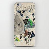 ░ MEAW ░ iPhone & iPod Skin