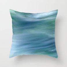 AQUA VITA dyptych, part II Throw Pillow