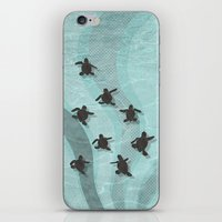 Loggerhead Sea Turtle Ha… iPhone & iPod Skin