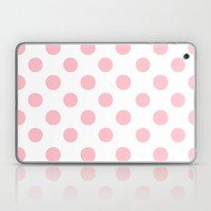 Polka Dots (Pink/White) Laptop & iPad Skin