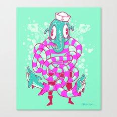 Shark Hands! Canvas Print